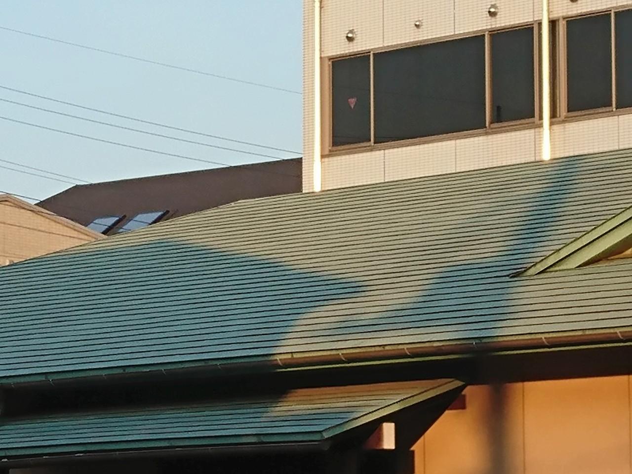 銅板の屋根1