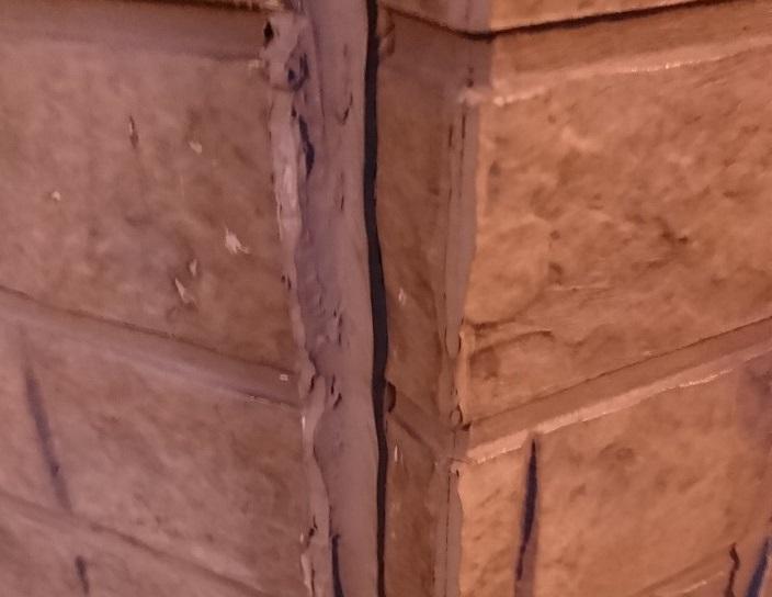 窯業系サイディング反り1