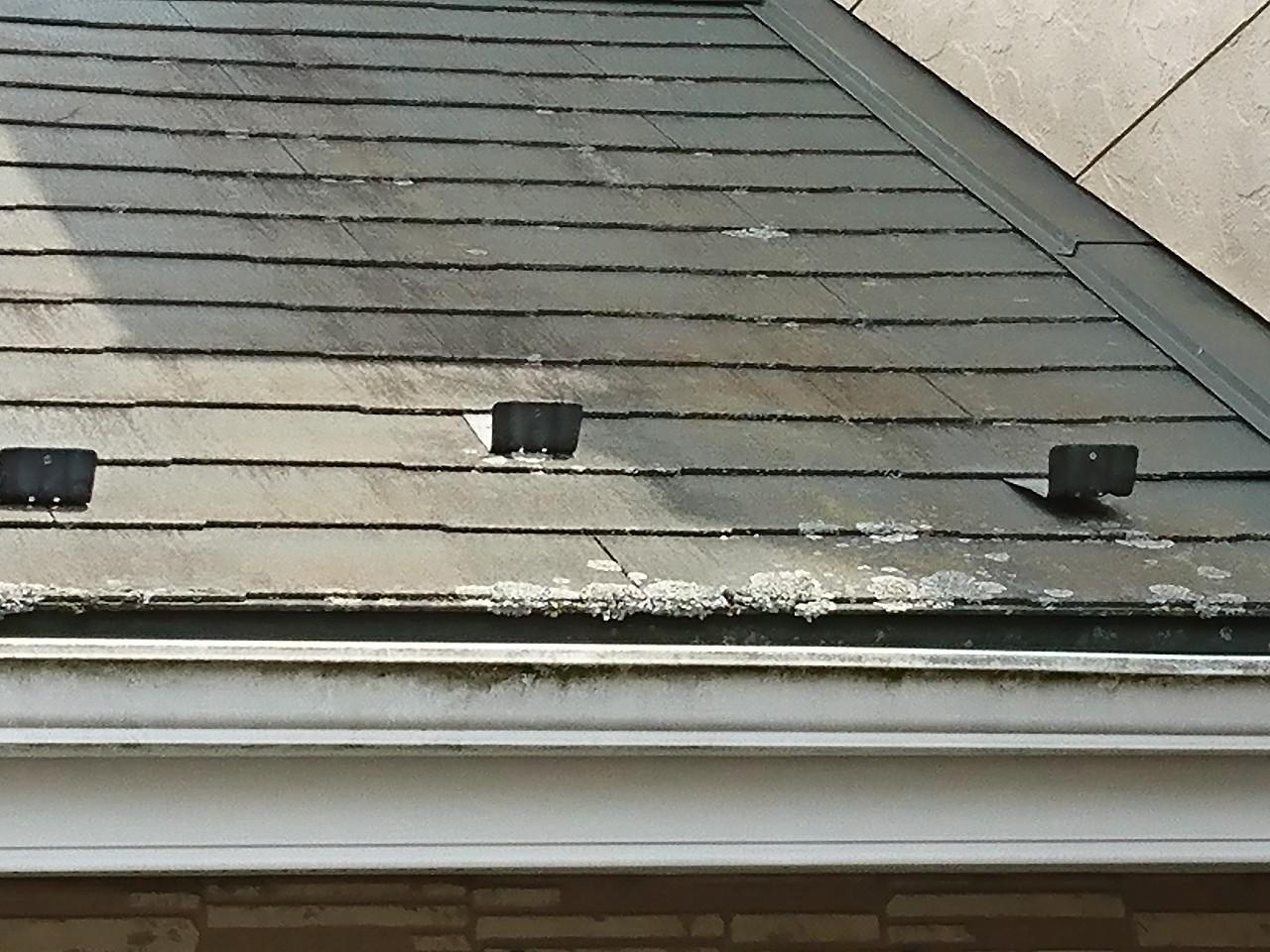 劣化したスレート屋根3