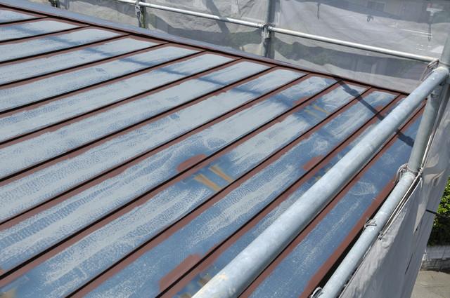 屋根の下地処理