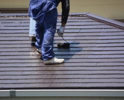 屋根塗装1
